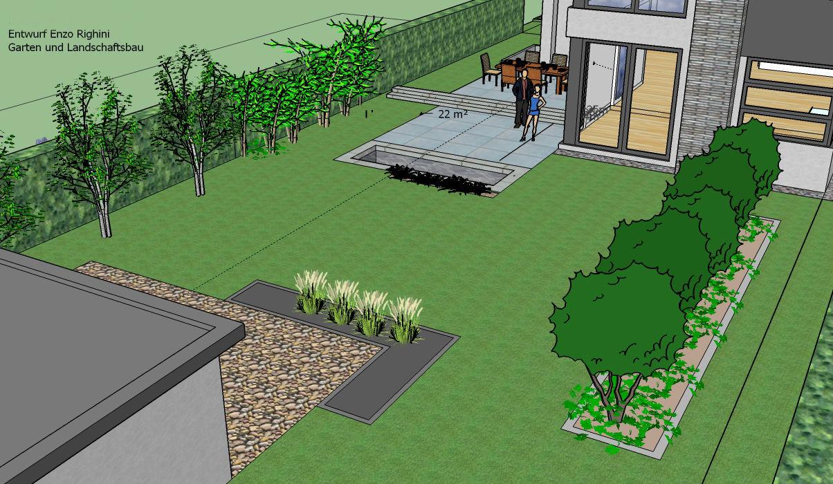 baustellen 2016 | righini garten- und landschaftsbau, Garten ideen